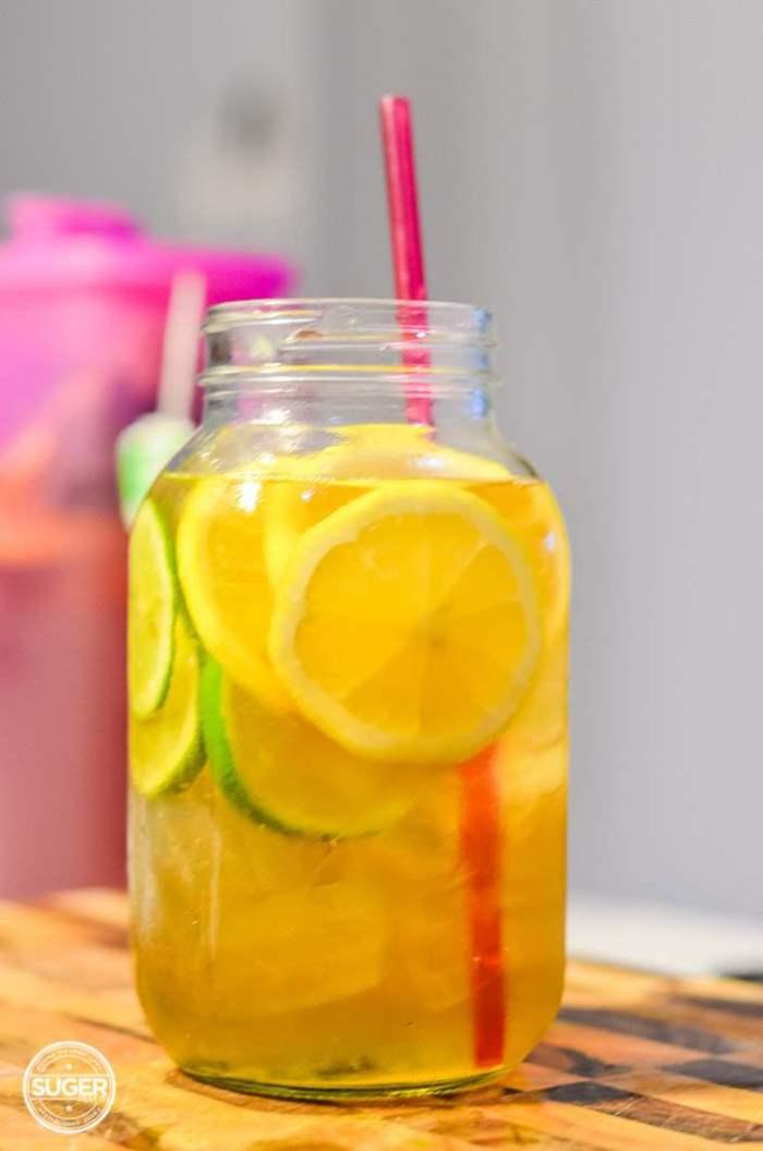 simple summer iced green tea-3