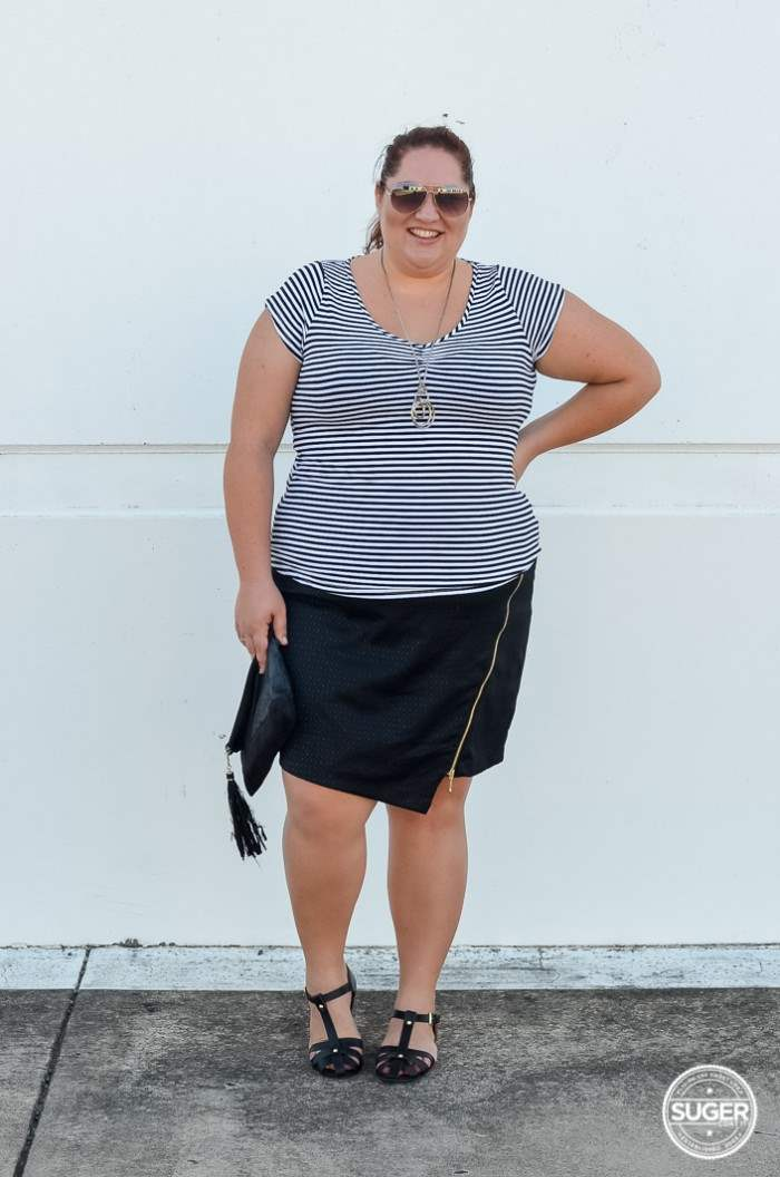 target bellecurve monochrome plus-size-13