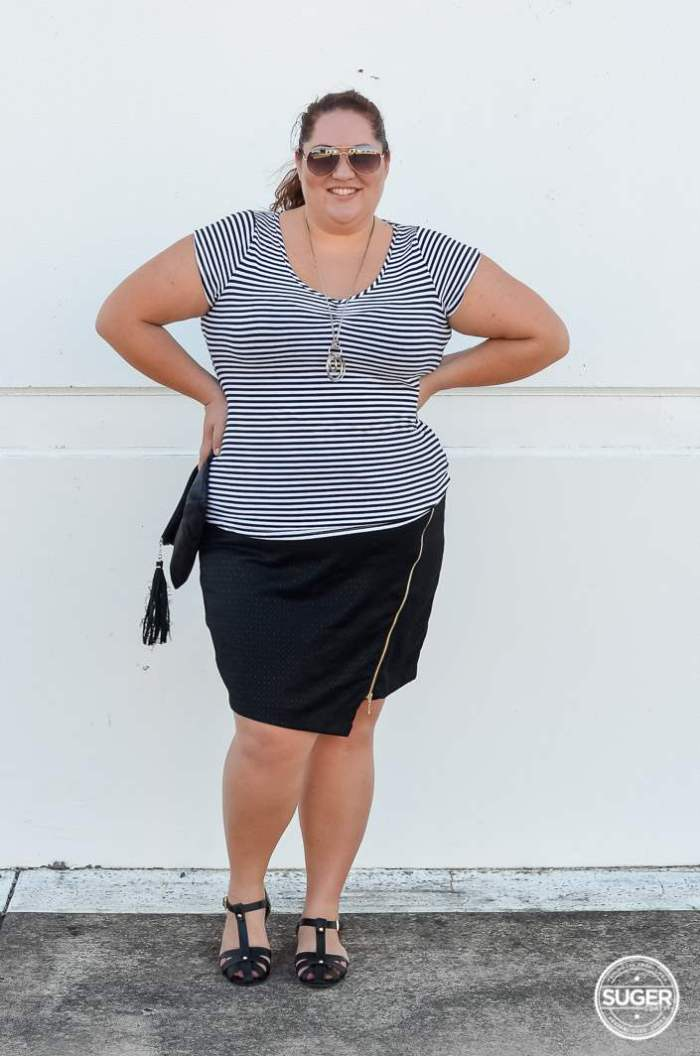 target bellecurve monochrome plus-size-9