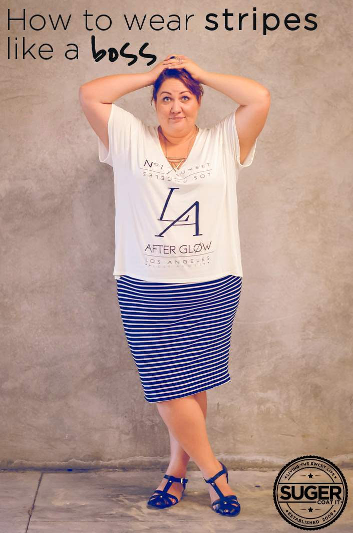 how-to-wear-stripes-plus-size-fashion
