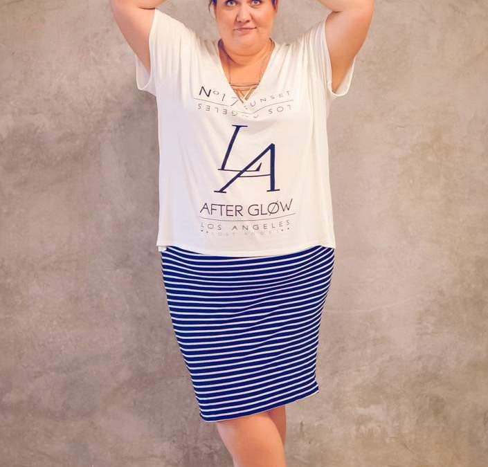How to wear stripes like a boss!