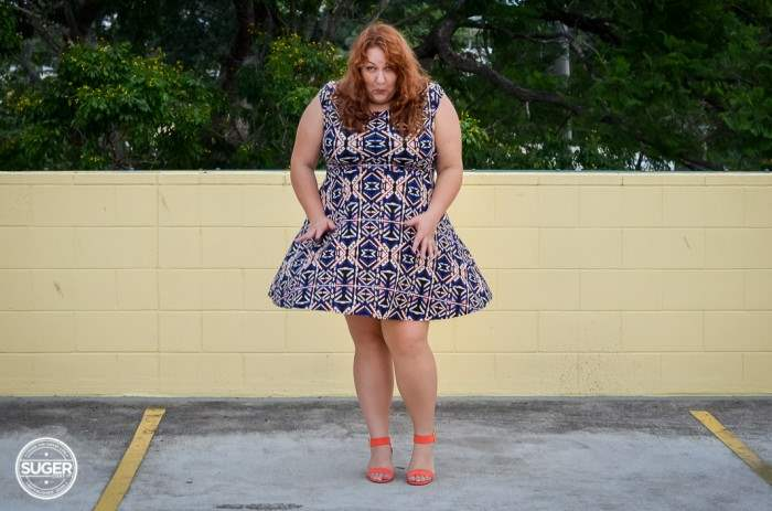 plus size forever 21 dress casual outfit-7