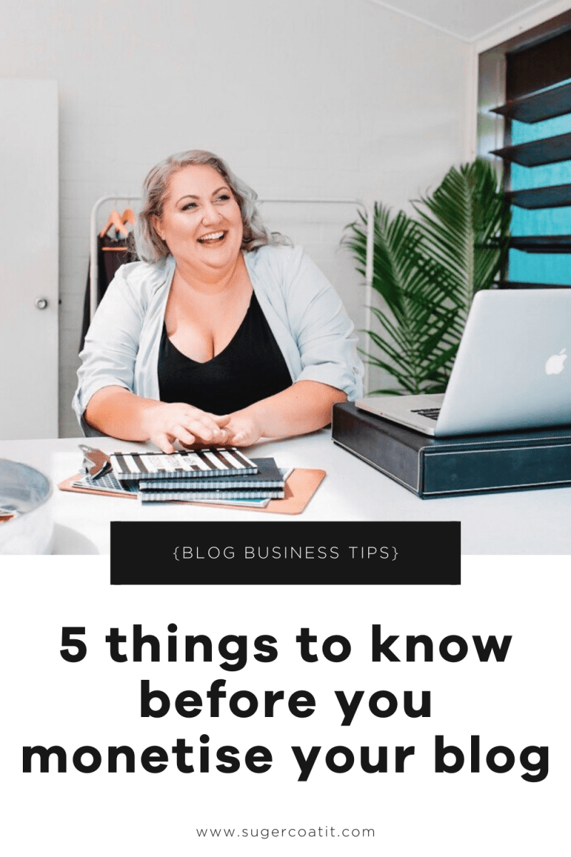 5 things about blogging for business that I learned the hard way - Suger Coat It