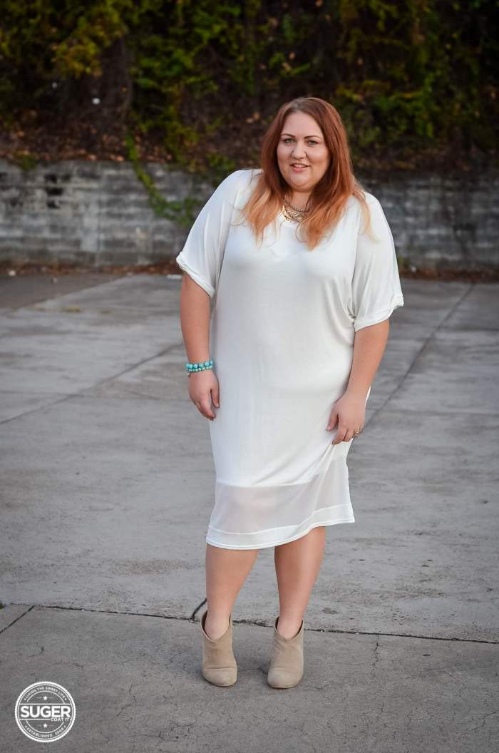 boohoo white dress plus size fashion-3