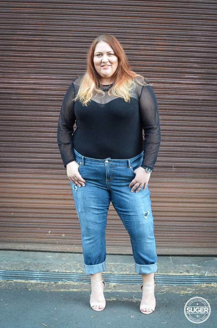 torrid denim boyfriend jeans bodysuit plus size outfit-7
