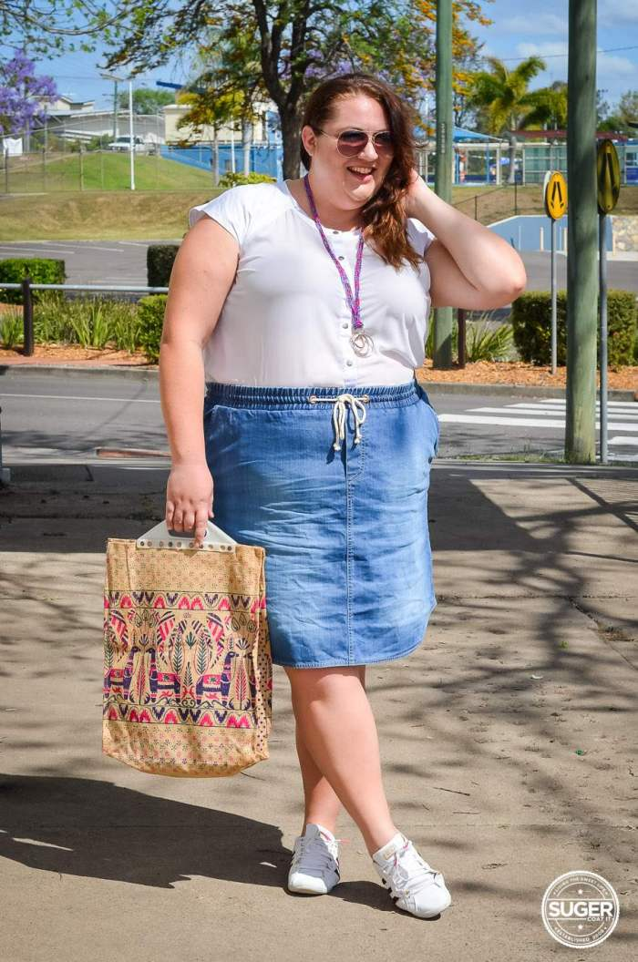 plus size casual outfit 17 sundays asos curve summer-4