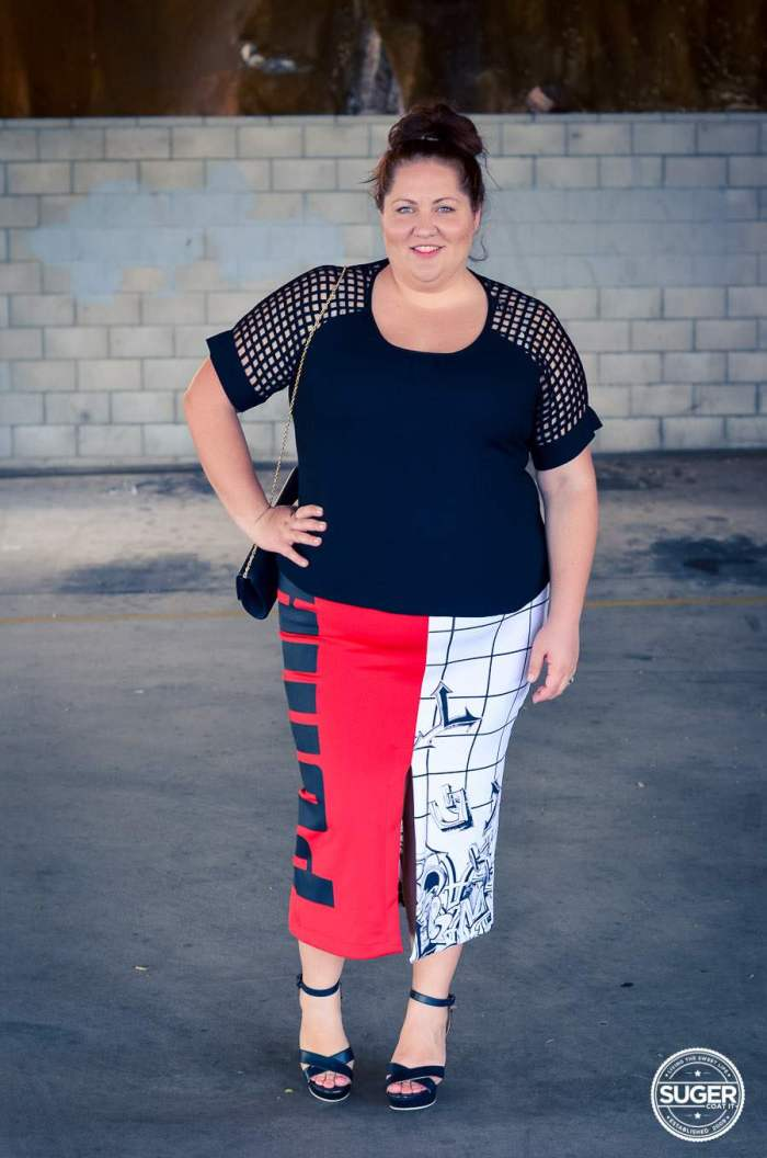 plus size fashion blog date outfit puma asos curve -1