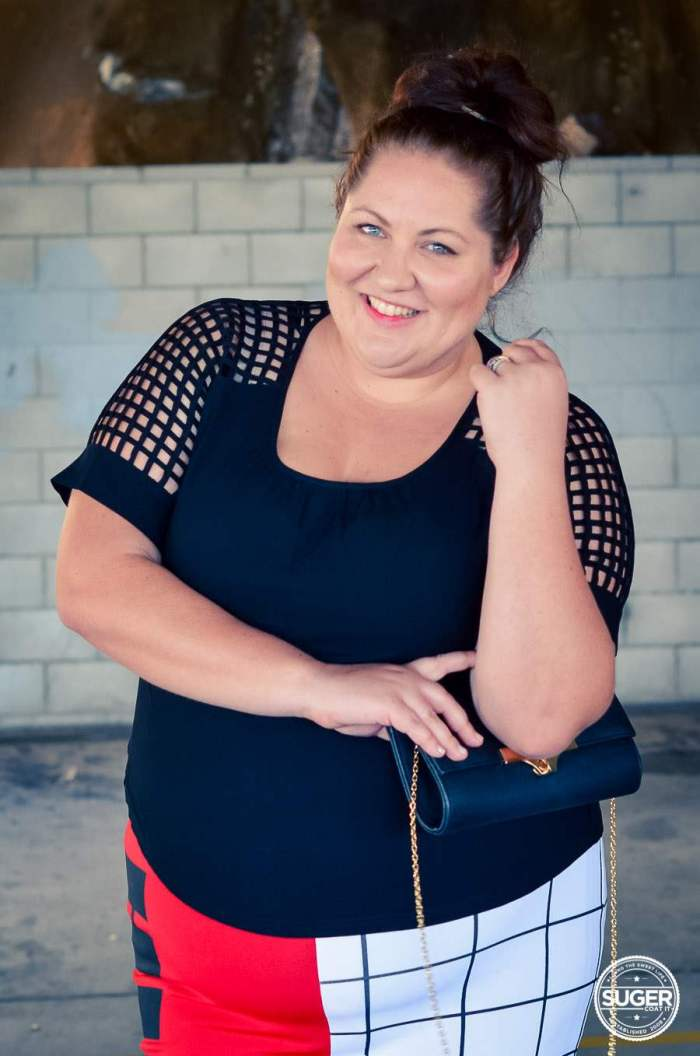 plus size fashion blog date outfit puma asos curve -9