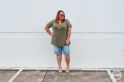 beme summer shorts australia plus size fashion blogger review-8