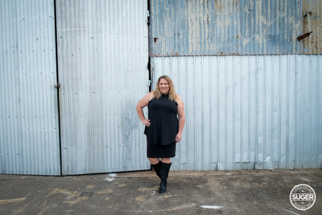 black turtleneck all black outfit australian plus size fashion blogger-1