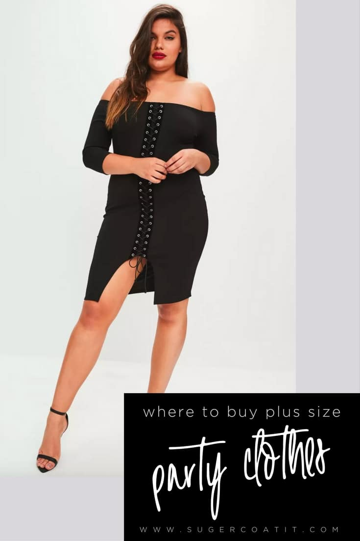 where to buy plus size - suger coat it