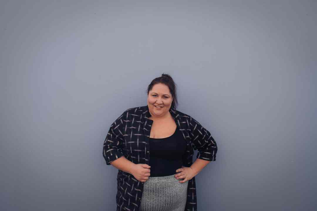 Monochrome Work Outfit - Plus Size Blogger