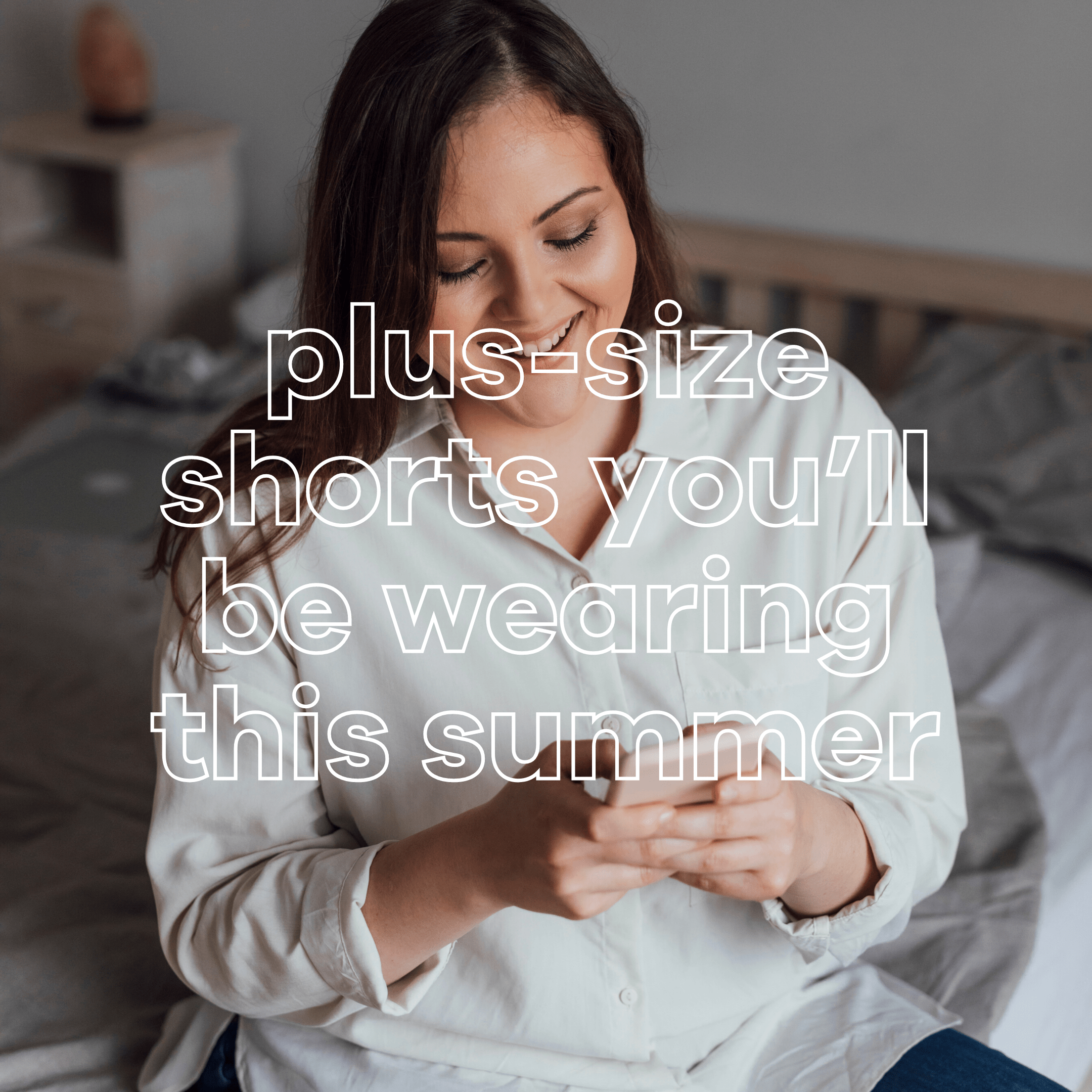Plus Size Shorts Outfits for Summer - Suger Coat It