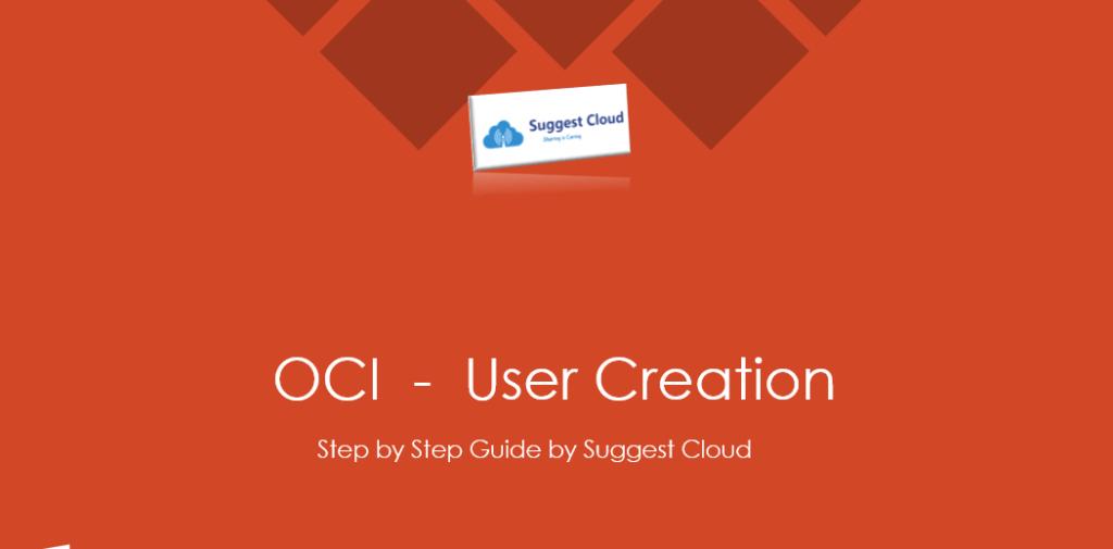 OCI User Creation