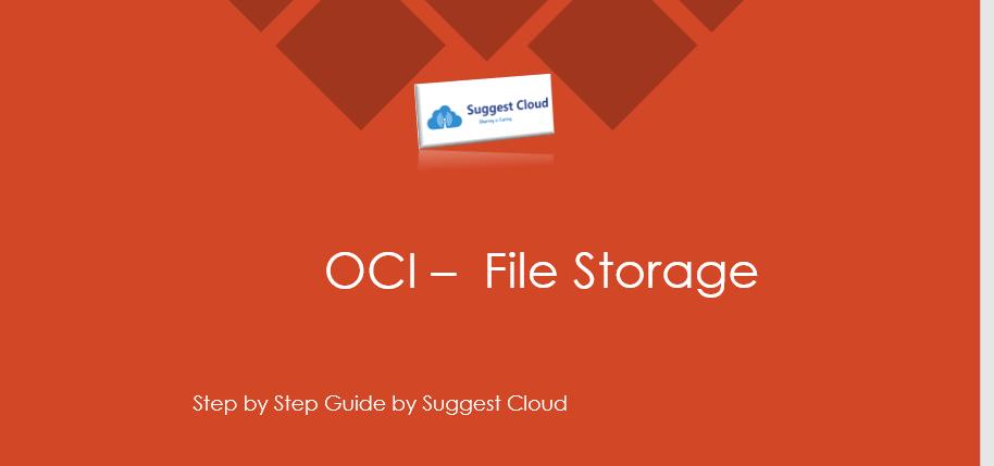 OCI File Storage