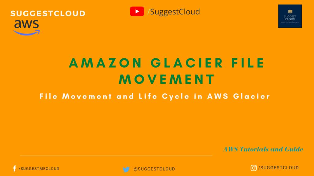 Amazon Glacier File Movement