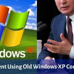Did You Know? This President Using 18 Years Old Windows XP Computer
