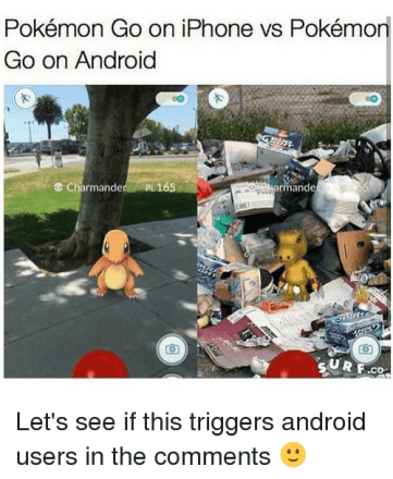iPhone Vs Android Performance Meme