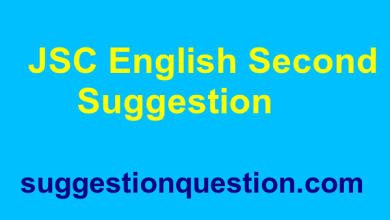 JSC English 2nd Paper Suggestion 2019