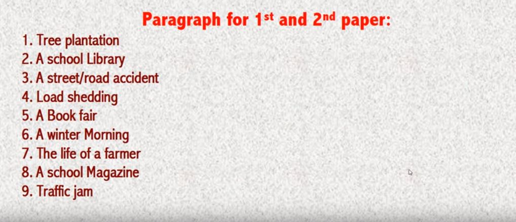 SSC English 1st Paper Suggestion 2019