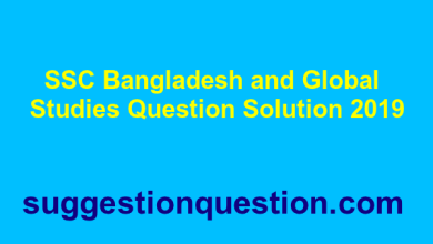 SSC Bangladesh and Global Studies Question Solution 2019