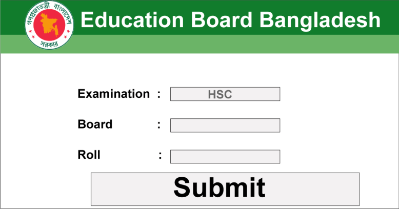 SSC Result 2019 Marksheet
