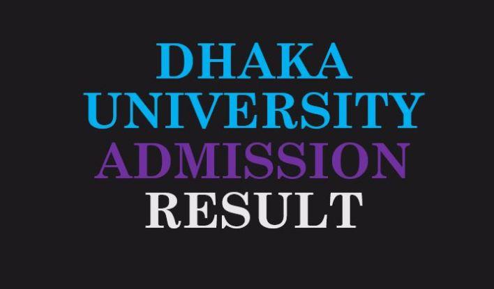 Dhaka University Admission Result 2019-2020