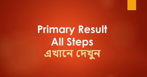Check Primary School Teacher MCQ Exam Result 2019 Online