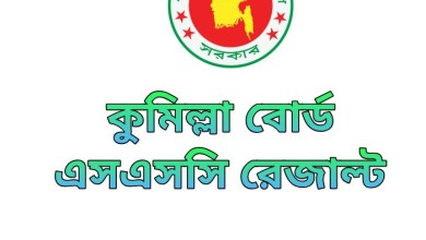 SSC Result 2020 Comilla Board Marksheet & Number