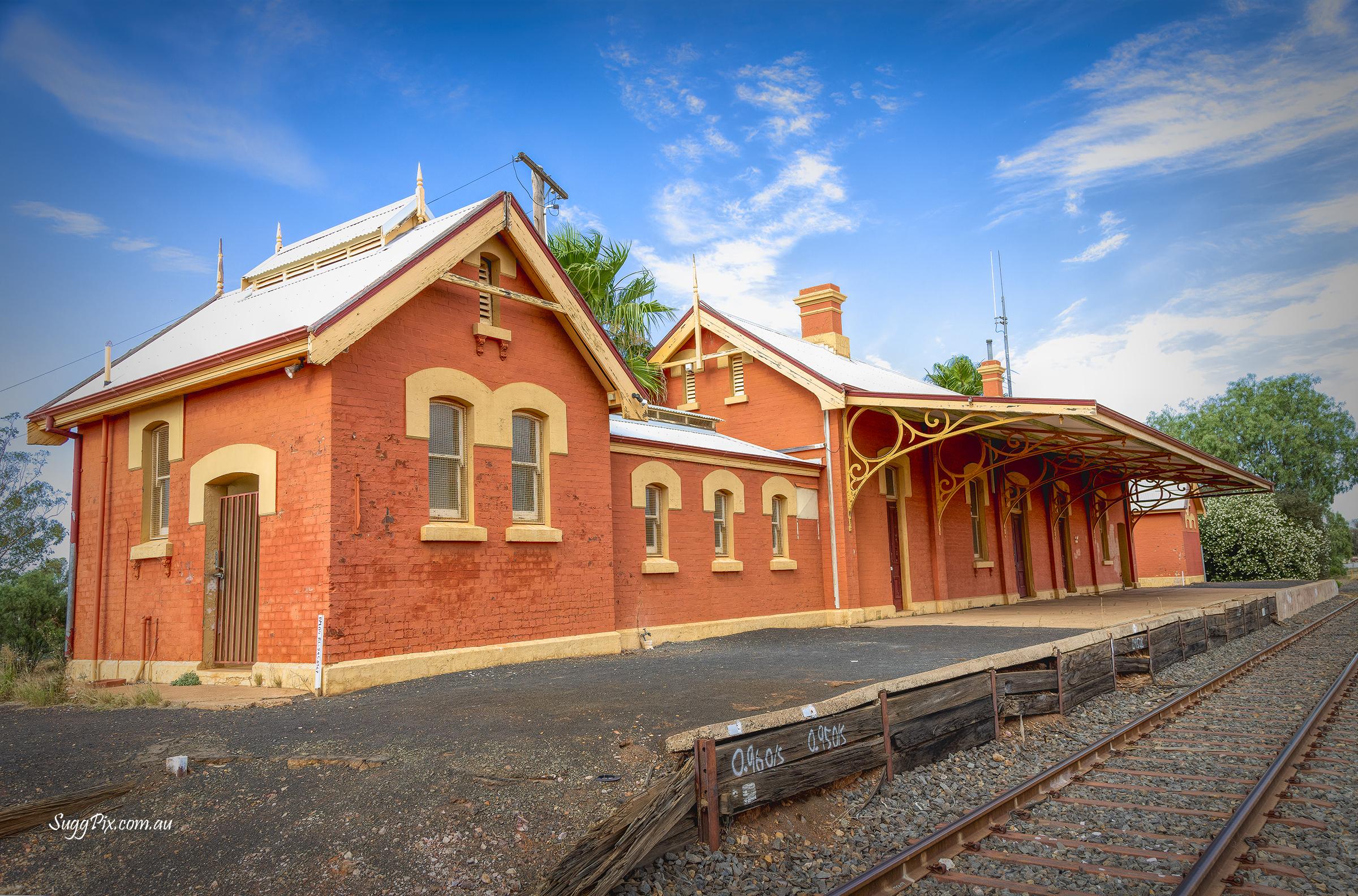Former Railway Station, Cobar NSW