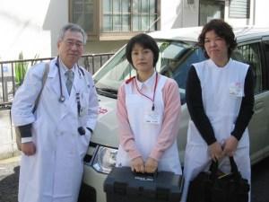 医師と看護師がペア