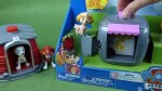 【犬猫動物動画まとめ】Paw Patrol Pup to Hero Marshall and Skye Dog House Playset Toys with Zuma and Rubble too-