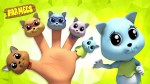 【犬猫動物動画まとめ】Kitten Finger Family | Nursery Rhymes for Babies and Kids Songs | Cartoon Videos