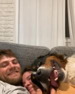 【犬猫動物動画まとめ】Happy Dog Snuggles With Owners