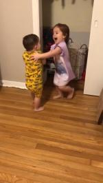 【犬猫動物動画まとめ】Toddler Siblings Playing Hide And Seek Take Turns To Hide Inside Closet