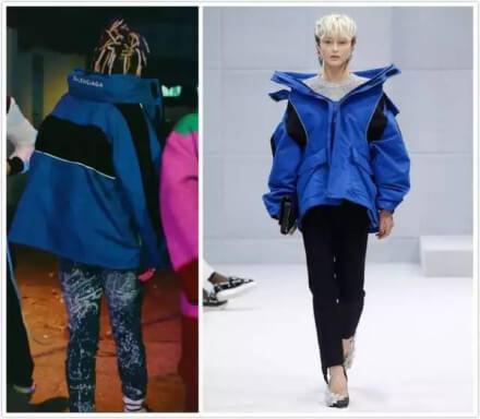 SOL着用:バレンシアガのジャケット