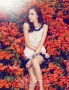 Kim Won Kyung Floral Allure Magazine April 2013 (6)