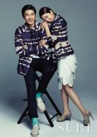 Park Shin Hye and Yoon Kye Sang - Sure Magazine May 2013 3