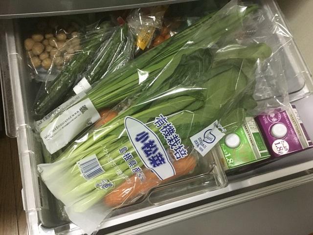 野菜室が満杯になった