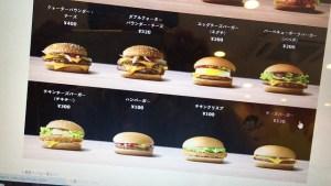 マクドナルドのハンバーガーの原価