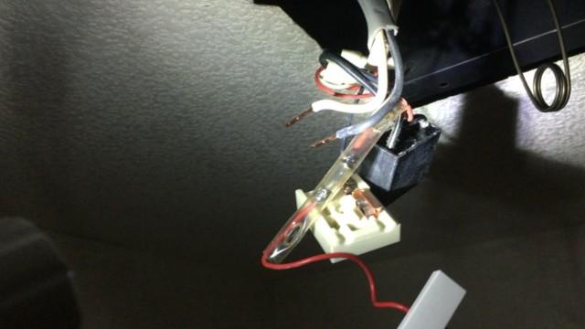 トイレファンの電気回路