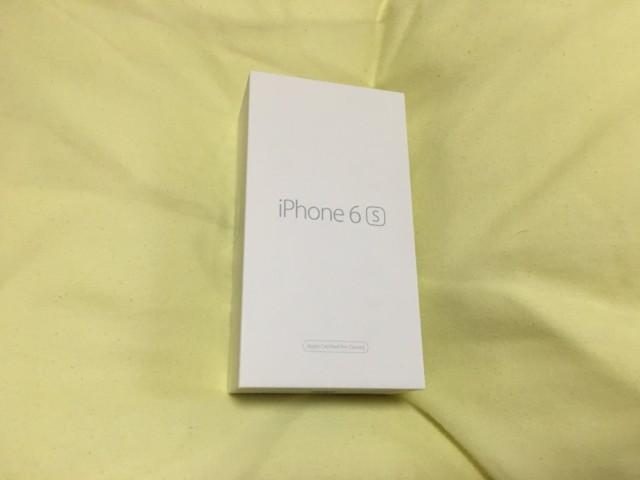 iPhone の買取と箱