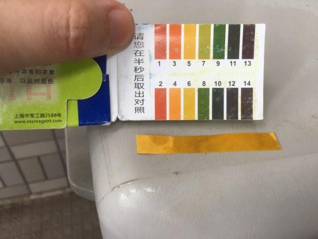 リトマス試験と酸性雨と測定結果