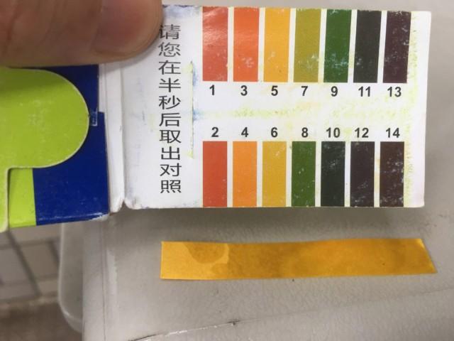 リトマス試験と酸性雨と結果