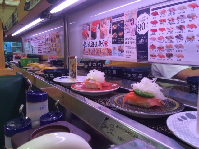 回転寿司の裏側