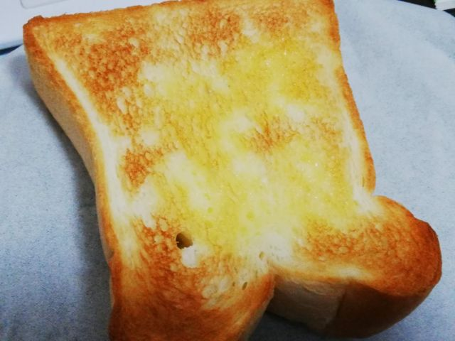 ちょうどいいトーストの焼き目