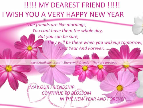 thought new year greetings
