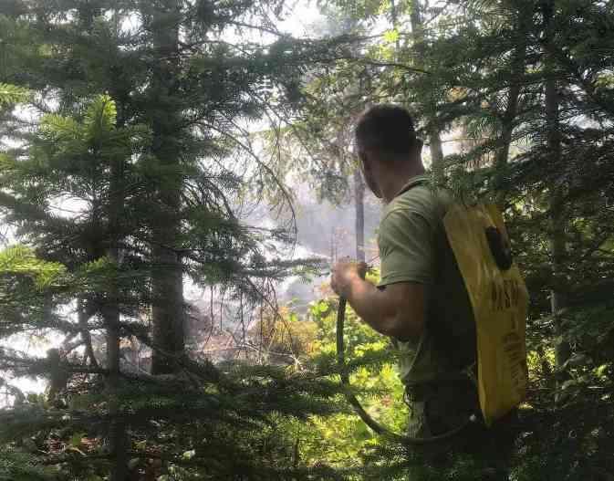 FSK del në terren për të ndihmuar në shuarjen e zjarreve në Suharekë