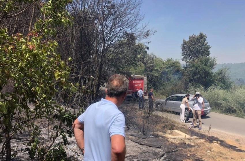 Suhareka në gjendje të rëndë, zjarr në 5 vatra