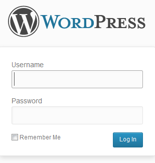 Membuat Website .Com dengan CMS WordPress Dashboard Login WP